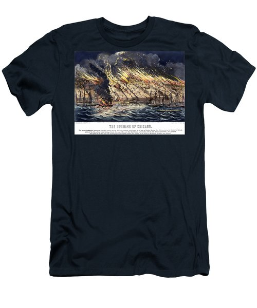 Chicago: Fire, 1871 Men's T-Shirt (Athletic Fit)