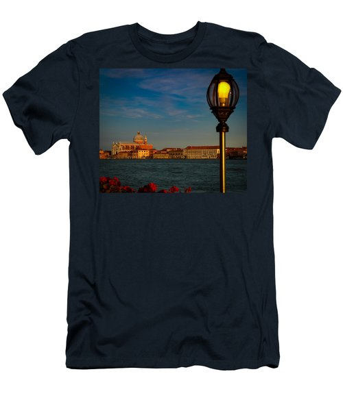 Chiesa Del Santissimo Redentore Men's T-Shirt (Slim Fit) by Kathleen Scanlan