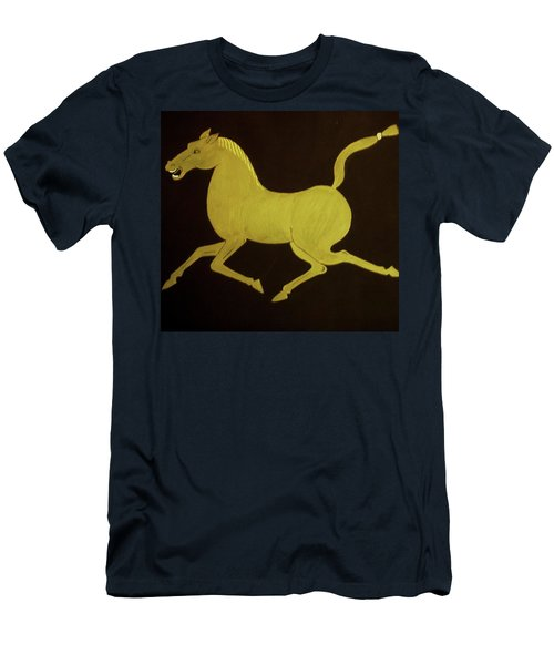 Chinese Horse Men's T-Shirt (Slim Fit)