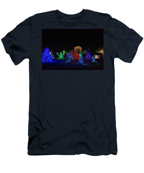 Christmas Garden 7 Men's T-Shirt (Athletic Fit)