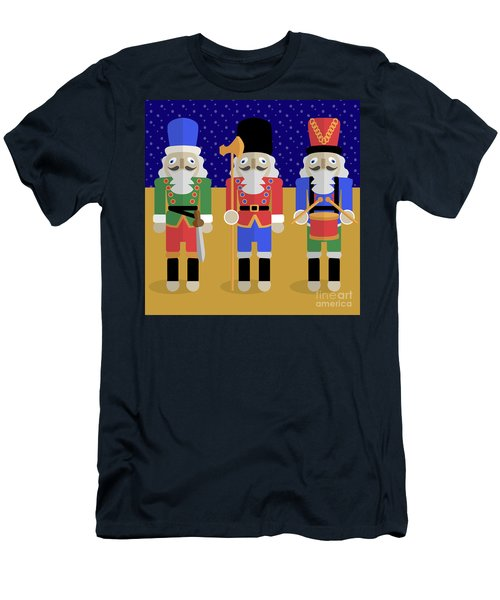 Christmas Nutcrackers  Men's T-Shirt (Athletic Fit)