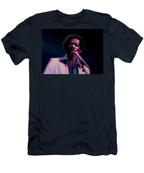 Chuck Berry Men's T-Shirt (Slim Fit) by Paul Meijering