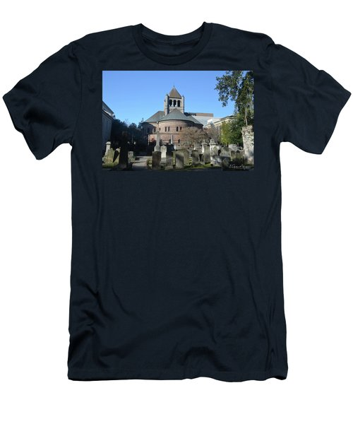 Circular Congregational Church Men's T-Shirt (Slim Fit) by Gordon Mooneyhan