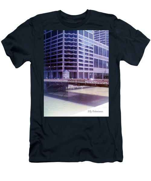 City Bridge Men's T-Shirt (Athletic Fit)