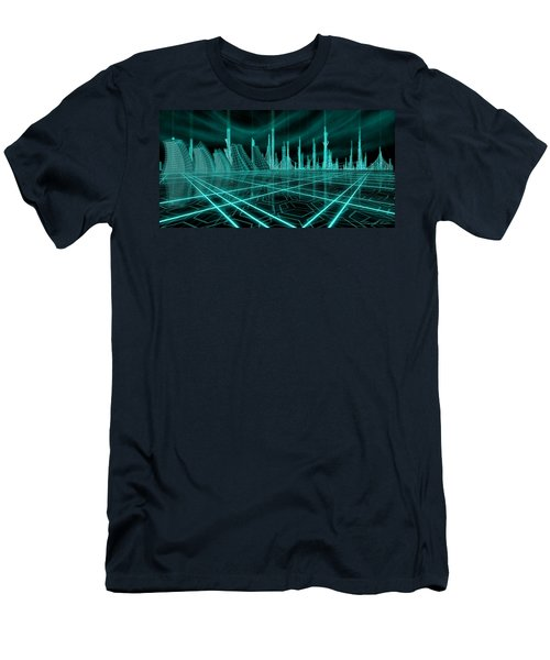 Cityscape 2010 Alpha Men's T-Shirt (Athletic Fit)