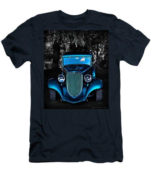 Classic Blue Men's T-Shirt (Athletic Fit)