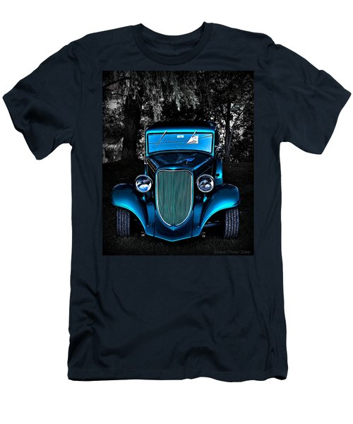 Classic Blue Men's T-Shirt (Athletic Fit)