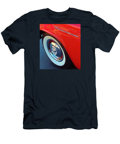 Classic T-bird Tire Men's T-Shirt (Athletic Fit)