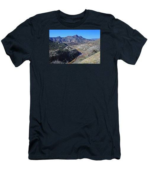 Men's T-Shirt (Slim Fit) featuring the photograph Clear And Rugged by Gary Kaylor