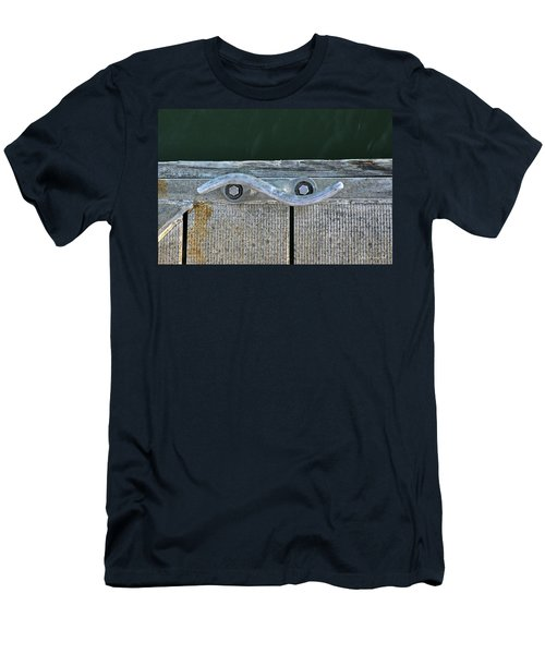 Cleat On A Dock Men's T-Shirt (Athletic Fit)