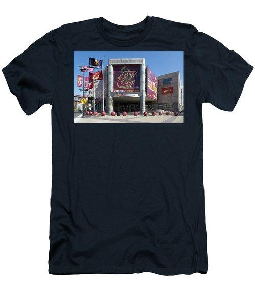 Cleveland Cavaliers The Q Men's T-Shirt (Athletic Fit)