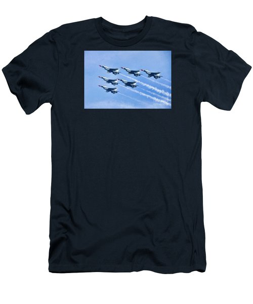 Cleveland National Air Show - Air Force Thunderbirds - 1 Men's T-Shirt (Athletic Fit)