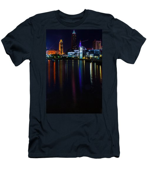 Cleveland Nightly Reflections Men's T-Shirt (Athletic Fit)