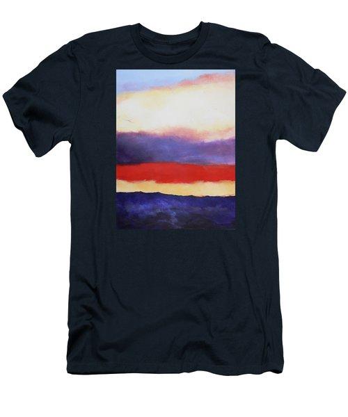Cloud Layers 4 Men's T-Shirt (Slim Fit) by M Diane Bonaparte