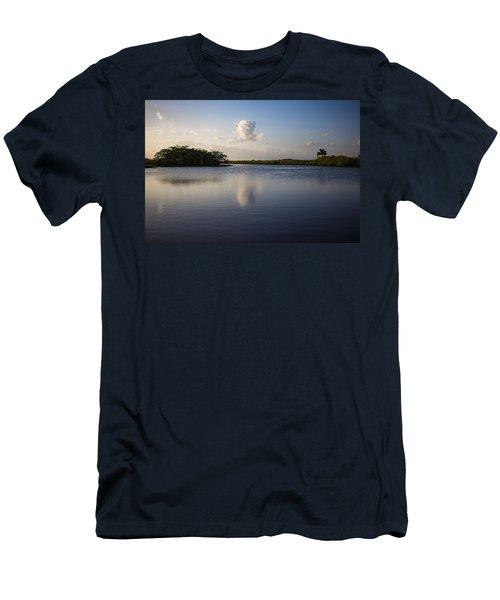 Cloud Reflection Men's T-Shirt (Athletic Fit)