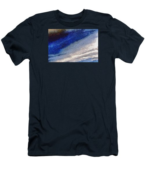 Men's T-Shirt (Slim Fit) featuring the photograph Clouds 10 by Spyder Webb
