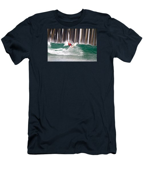 Coco Ho Surfer Girl Men's T-Shirt (Athletic Fit)