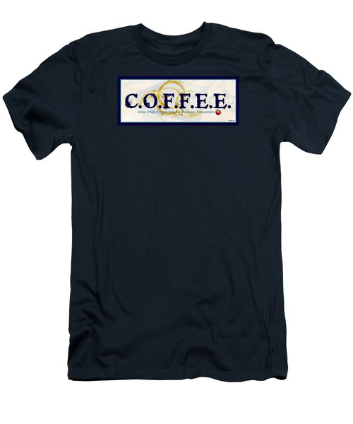 Coffee For Christ Men's T-Shirt (Athletic Fit)