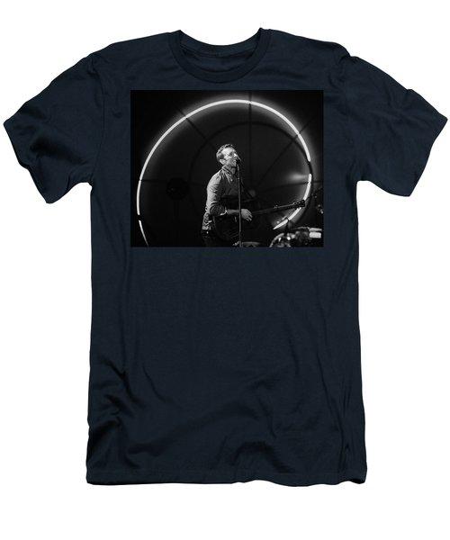 Coldplay11 Men's T-Shirt (Slim Fit) by Rafa Rivas