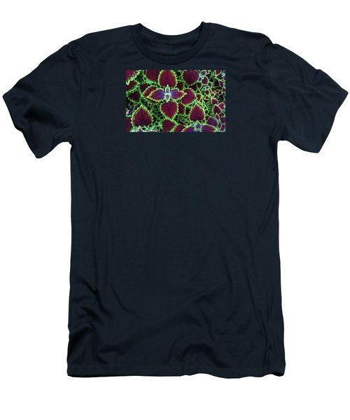 Coleus Leaves Men's T-Shirt (Athletic Fit)