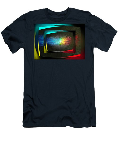 Color Tv Men's T-Shirt (Athletic Fit)