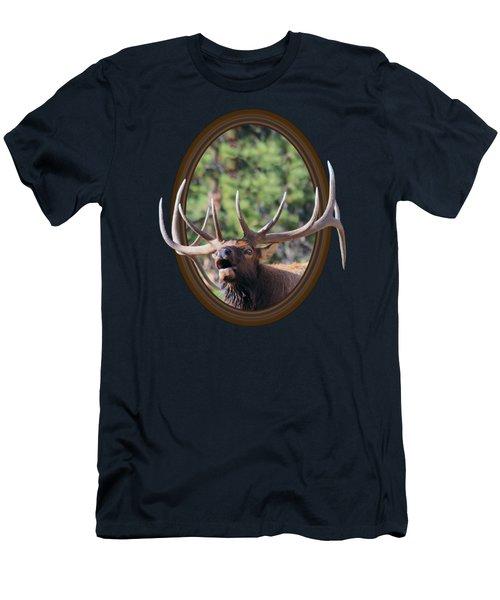 Colorado Bull Elk Men's T-Shirt (Athletic Fit)
