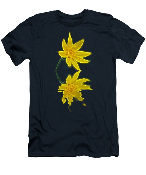 Colorado Wildflower Men's T-Shirt (Slim Fit) by Shane Bechler