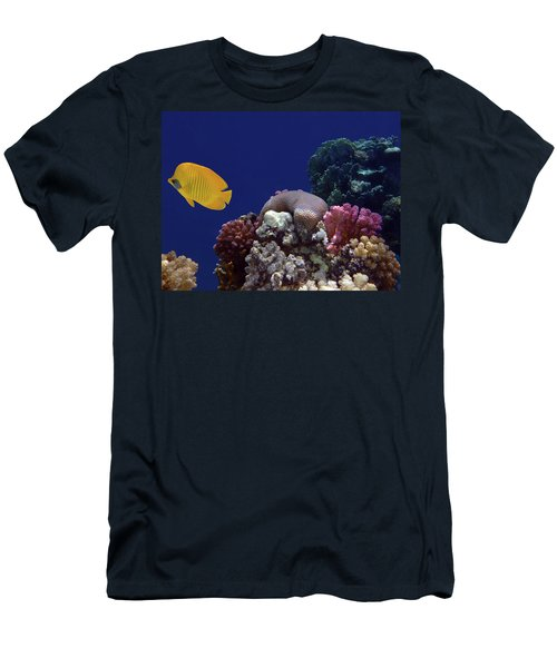 Colorful Coralreef Men's T-Shirt (Athletic Fit)