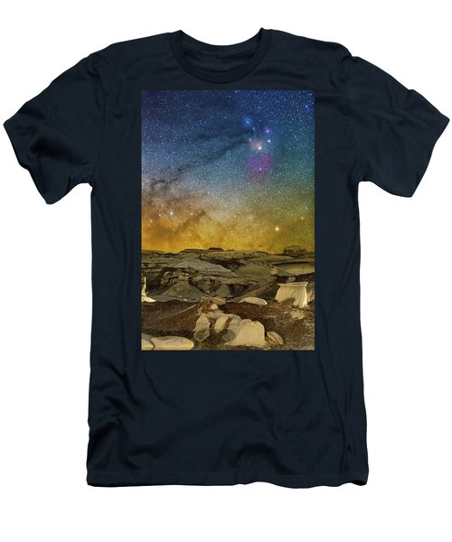 Colors On The Rise Men's T-Shirt (Athletic Fit)