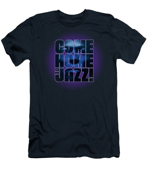 Come Home To Jazz Men's T-Shirt (Athletic Fit)