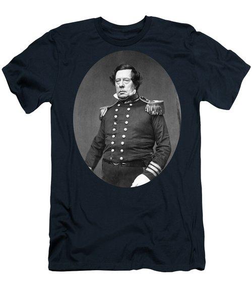 Commodore Matthew Perry Portrait  Men's T-Shirt (Athletic Fit)