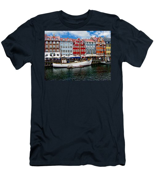 Copenhagen - Denmark Men's T-Shirt (Slim Fit) by Anthony Dezenzio