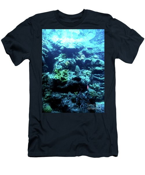 Men's T-Shirt (Athletic Fit) featuring the photograph Coral Art 4 by Francesca Mackenney