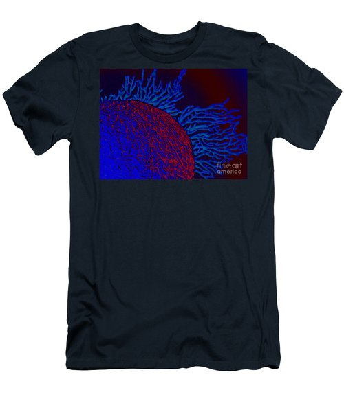 Men's T-Shirt (Slim Fit) featuring the photograph Coral Study by Trena Mara