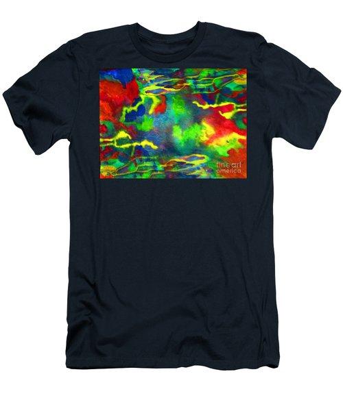 Coral Tides Men's T-Shirt (Athletic Fit)