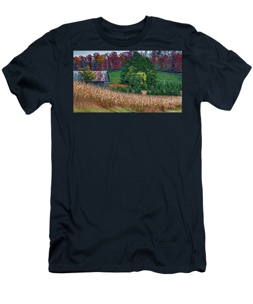 Corn And Ginseng On Poverty Hill Men's T-Shirt (Athletic Fit)