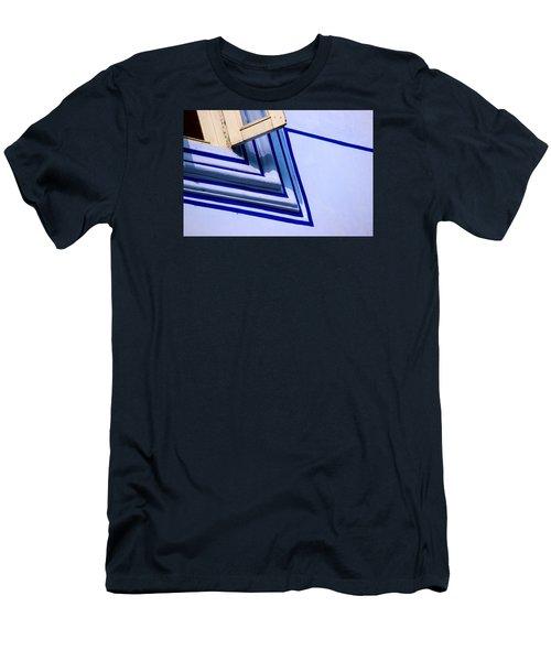 Cornering The Blues Men's T-Shirt (Slim Fit) by Prakash Ghai