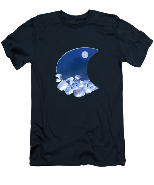 Cornflowers In The Moonlight Men's T-Shirt (Athletic Fit)