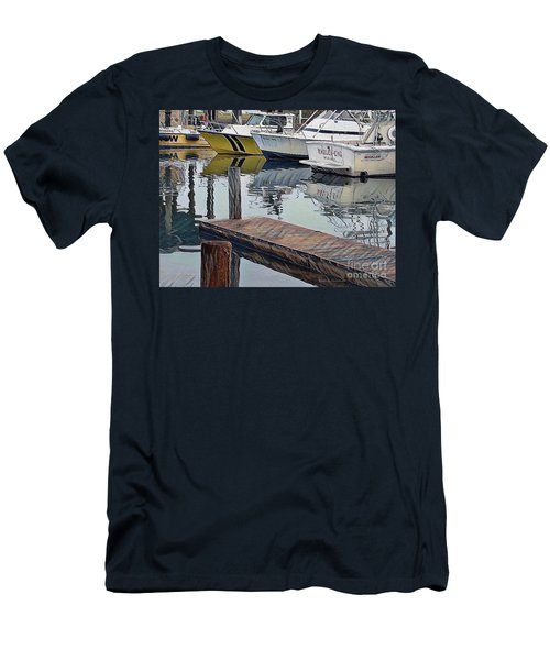 Corpus Christi Dock Men's T-Shirt (Athletic Fit)