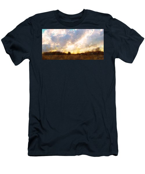 Country Sunset Men's T-Shirt (Athletic Fit)