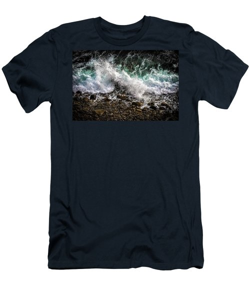 Crashing Surf Men's T-Shirt (Athletic Fit)