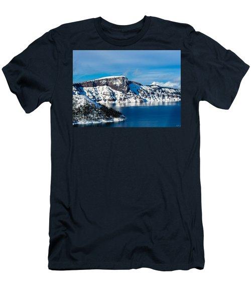 Crater Lake Men's T-Shirt (Athletic Fit)