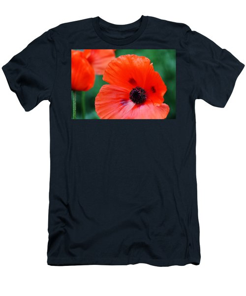Crepe Paper Petals Men's T-Shirt (Athletic Fit)
