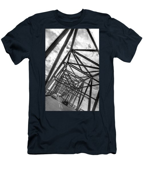 Crossing Through The Chesapeake Bay Bridge Men's T-Shirt (Athletic Fit)