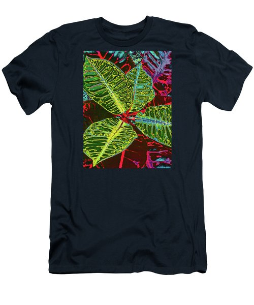Croton - Deep Green Men's T-Shirt (Athletic Fit)