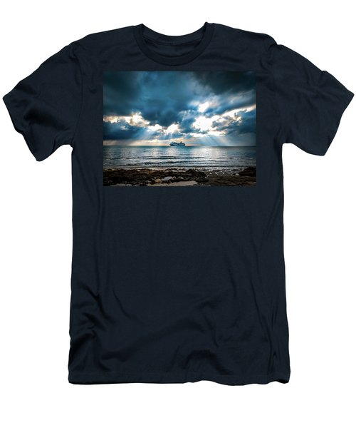 Cruise In Paradise Men's T-Shirt (Athletic Fit)