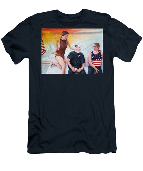 Cruising The 4th Of July Men's T-Shirt (Athletic Fit)
