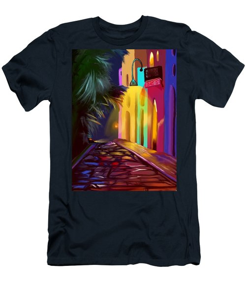Cubano Street Men's T-Shirt (Athletic Fit)