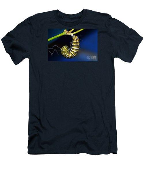 Curly Q Men's T-Shirt (Slim Fit) by Lew Davis