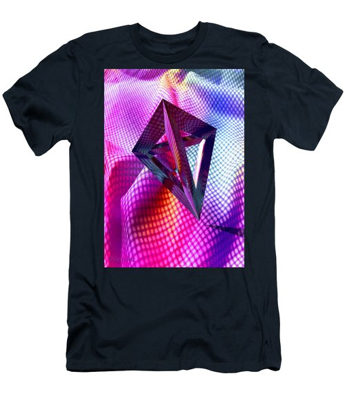 Curves And Angles Men's T-Shirt (Athletic Fit)